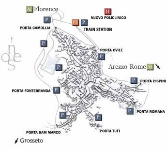 Map Of Italy Train Stations.Travel Siena 2006 Iucr School On Basic Crystallography Certosa